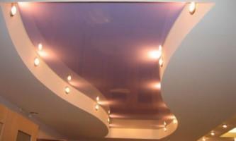 Натяжные потолки: современно и стильно