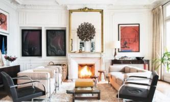 Небольшая парижская квартира с элегантным интерьером