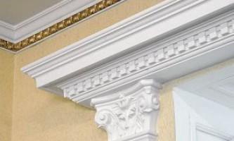 Незаменимый элемент декора — потолочный полиуретановый плинтус