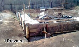 Нужно ли утеплять фундамент брусового дома