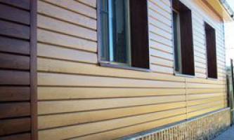 Обшивка дома из бруса снаружи: какой вариант выбрать