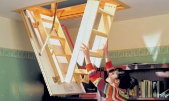 Обустраиваем лестницу на чердак