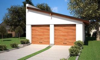 Односкатная крыша для гаража — особенности создания и эксплуатации