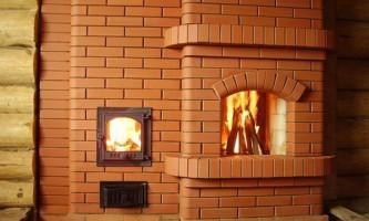 Оптимальный вариант отопления бани – печь камин для бани