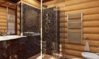 Организуем душевую в деревянном доме своими руками