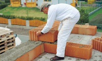 Ошибки при строительстве из керамоблоков
