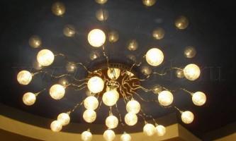 Осветительные приборы для натяжных потолков