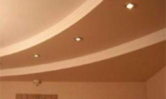 Отделка потолочных поверхностей гипсокартоном — технология и последовательность процесса