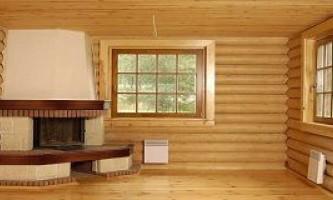 Отличия во внутренней отделке дома из клеёного бруса
