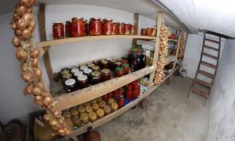 Овощей хранилище