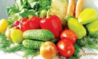 Овощи: правила хранения