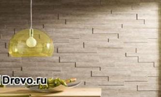 Панели для внутренней отделки деревянного дома