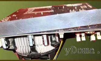 Переделка системы креплениярадиатора процессора компьютера