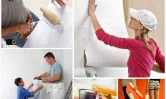 Подготовка стен к поклейке обоев: шпаклюем, грунтуем