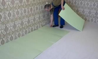 Подкладка под ламинат – важный элемент качественного покрытия