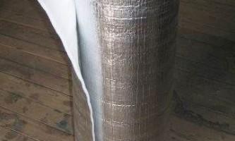 Подложка под теплый пол – разновидности теплоизолятора и особенности его применения