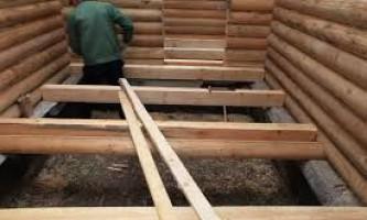 Пол по деревянным балкам: описание и рекомендации по сооружению