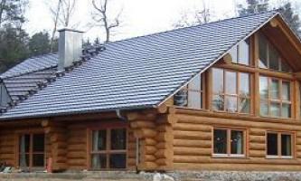Построить дом из оцилиндрованного бревна: трудоёмкость и затраты
