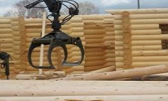 Постройки в самаре из оцилиндрованного бревна: дома, срубы и бани