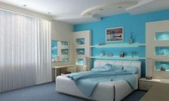 Потолки из гипсокартона в спальне — практические рекомендации по монтажу