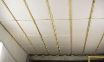 Потолок в гараже – способы правильного утепления