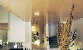 Правильная уборка и уход за натяжными потолками