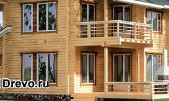 Преимущества и недостатки брусовых домов