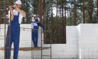 Процесс строительства дома в несъемной опалубке. Мастер-класс