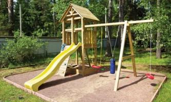 Какое покрытие выбрать для детской площадки?