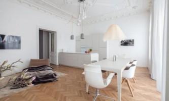 Просторная венская квартира в классическом стиле