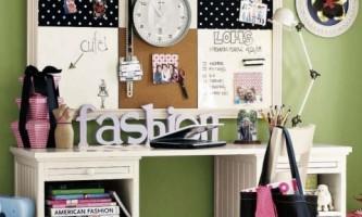 Рабочее пространство в детской комнате (фото)