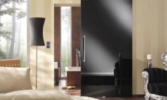 Раздвижные двери в ванную - экономия места и стильный дизайн