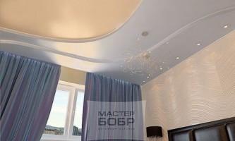Руководство как установить натяжные потолки мастер бобр
