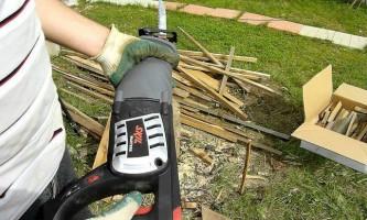 Сабельная пила при строительстве дома: как выбрать