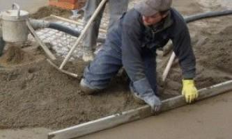 Самостоятельное выравнивание деревянного и бетонного пола