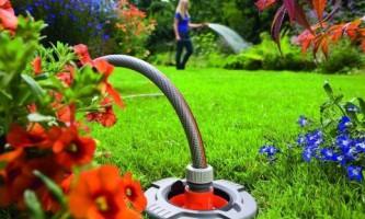 Шланг и соединители в системе ручного полива