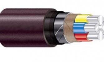 Специфика силовых алюминиевых электрических кабелей