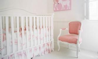 Стильные идеи дизайна детской комнаты для новорожденного