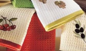 Стирка кухонных полотенец в домашних условиях. Использование нашатырного спирта и другие секреты.