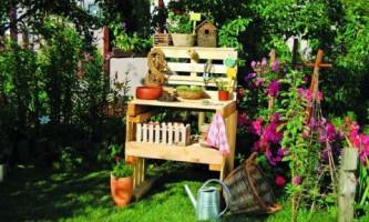 Столик садовода своими руками (фото)
