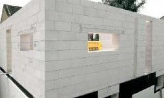 Строительство бани из пеноблоков: особенности внутренней и внешней отделки