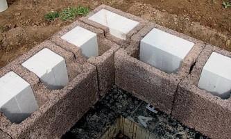 Строительство домов с использованием несъемной опалубки