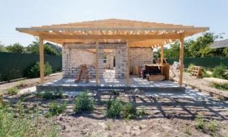 Строительство крыши. Стропильная система