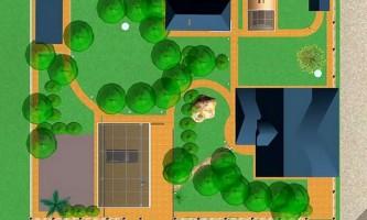 Строительство срубов бань и деревянных домов на одном участке