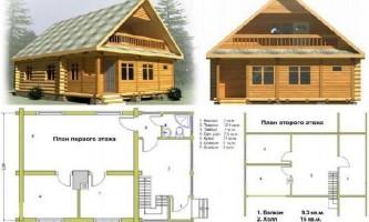 Строительство загородных домов из оцилиндрованного бревна: основные этапы