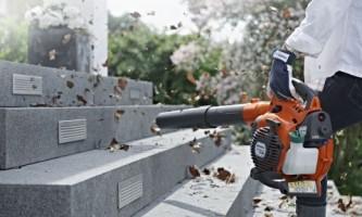 Уборка с комфортом: садовые пылесосы