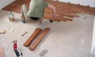 Укладка ламината на бетонный пол, как это сделать грамотно