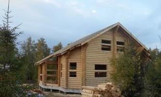 Услуги по строительству домов из оцилиндровки в калужской области