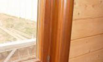 Установка деревянных откосов своими руками