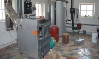 Установка твердотопливного котла в систему отопления с газовым котлом